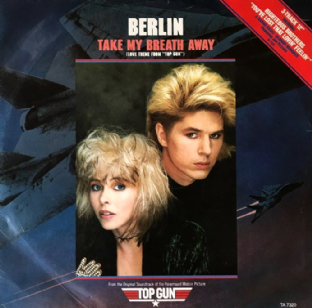 "Berlin - Take My Breath Away (Love Theme From ""Top Gun"") (12"") (G-VG/G-VG)"